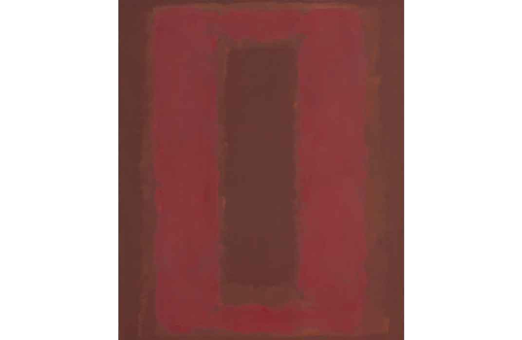Untitled—Seagram Mural Sketch, Mark Rothko