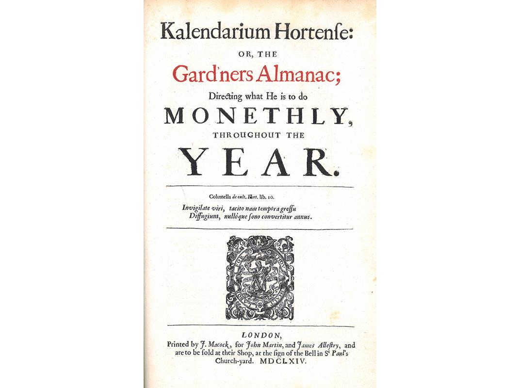 Kalendarium hortense