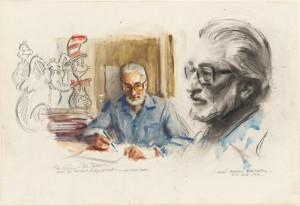 Dr. Seuss by Everett Raymond Kinstler