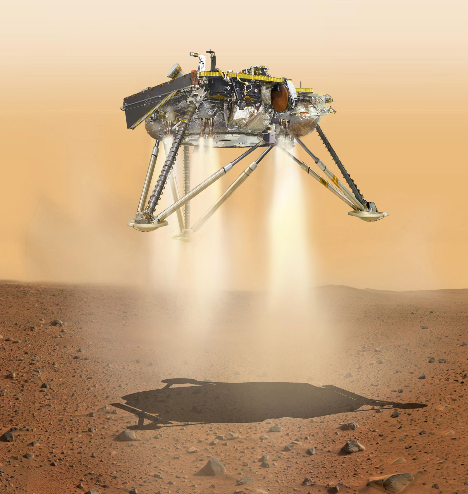 Became known, when a NASA probe landed on Mars