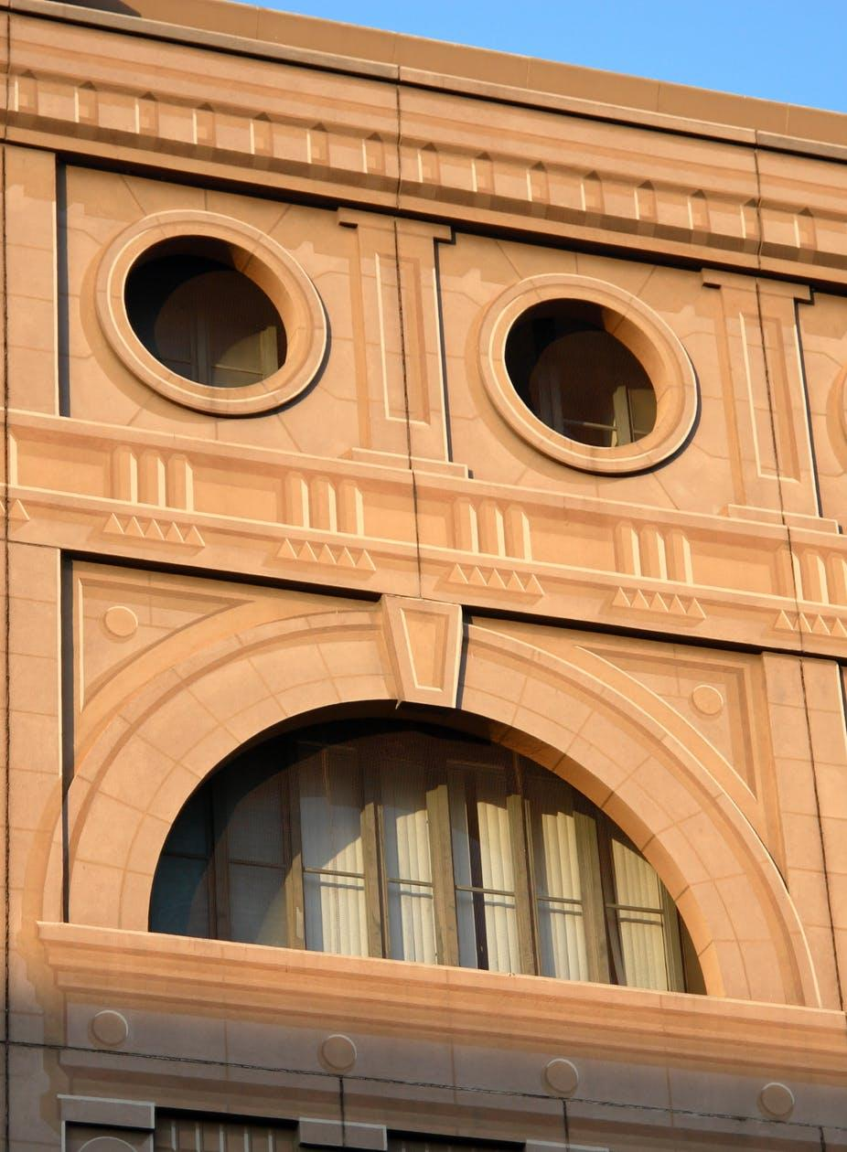 Is this a face or a building?