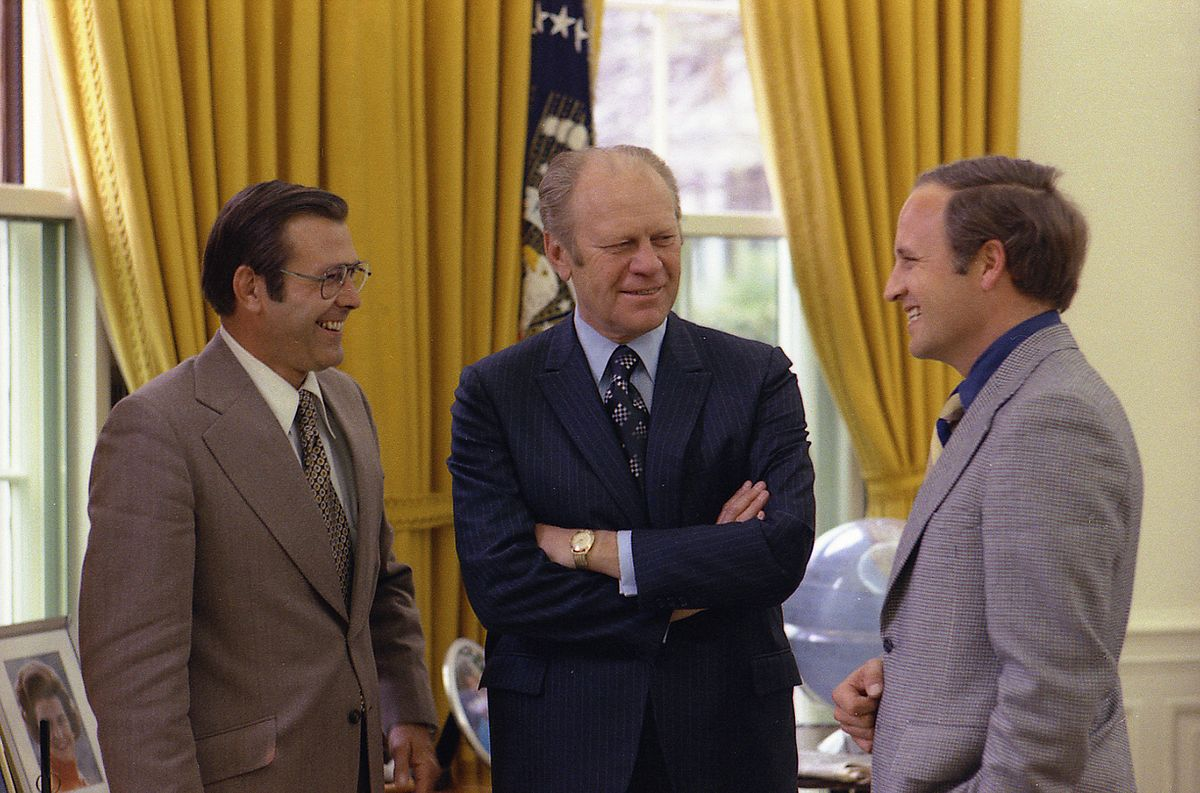 Ford, Rumsfeld, Cheney