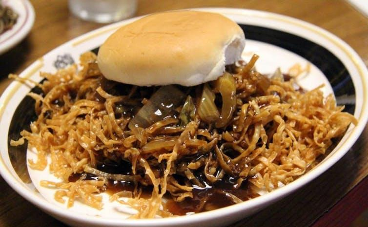 Fall River's famous chow mein sandwich