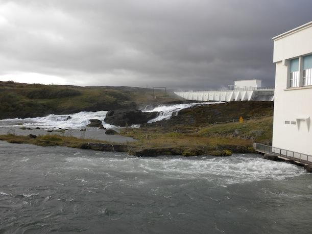 Ljósafoss hydropower plant, the oldest in Iceland.