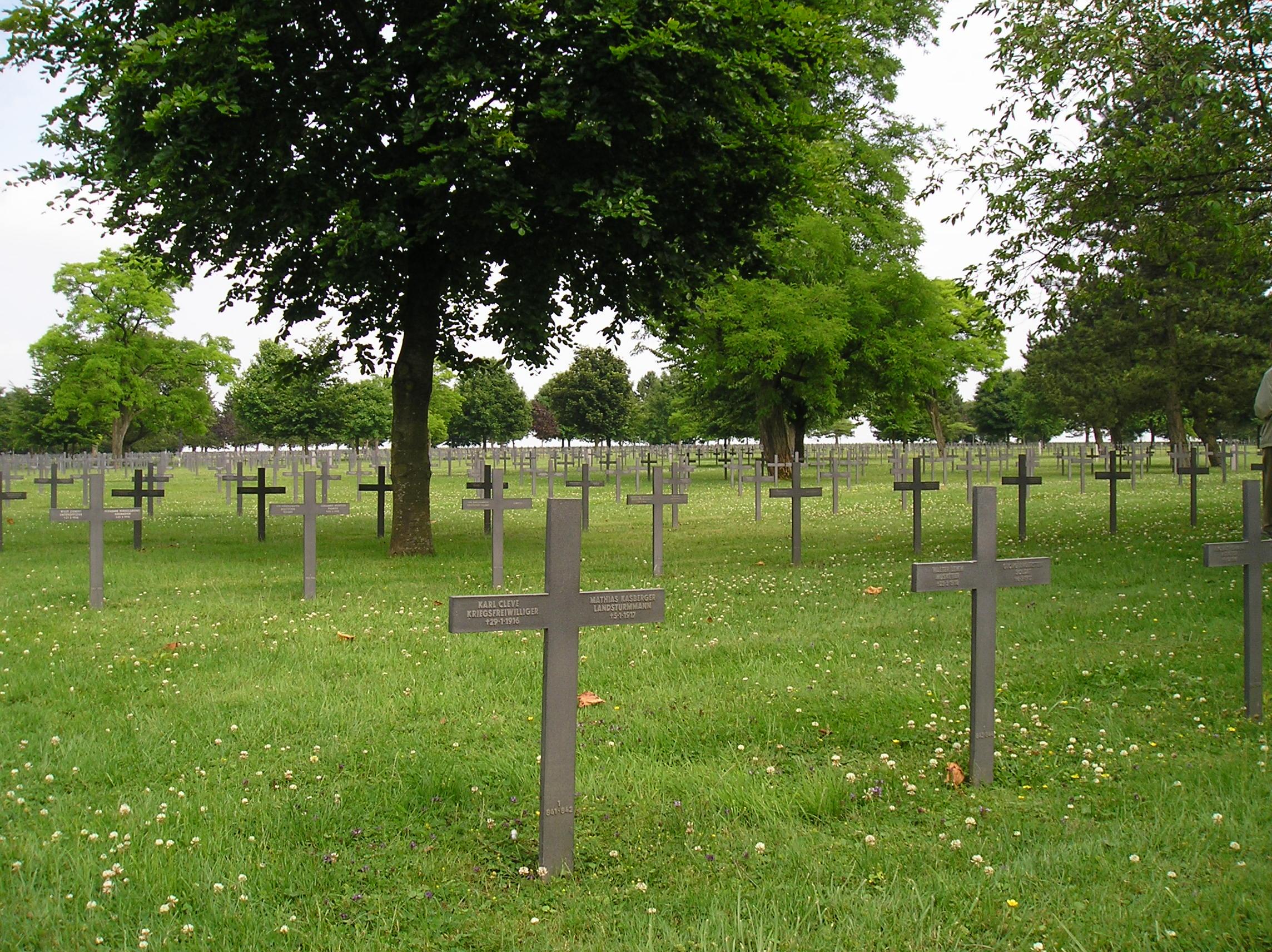Neuville-St-Vaast German War Cemetery
