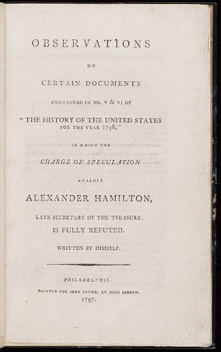Alexander Hamiltons Adultery and Apology History Smithsonian