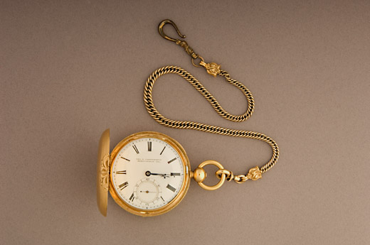 Lincolns English gold watch