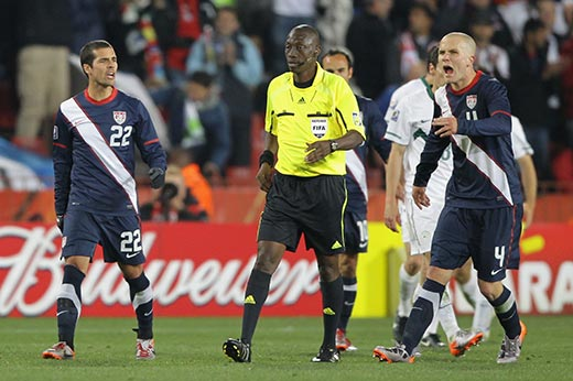 World Cup USA Slovenia referee Kouman Coulibaly