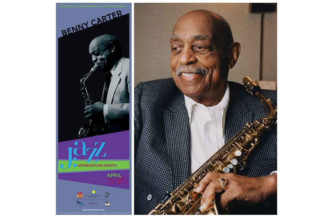 JAM Poster and Benny Carter