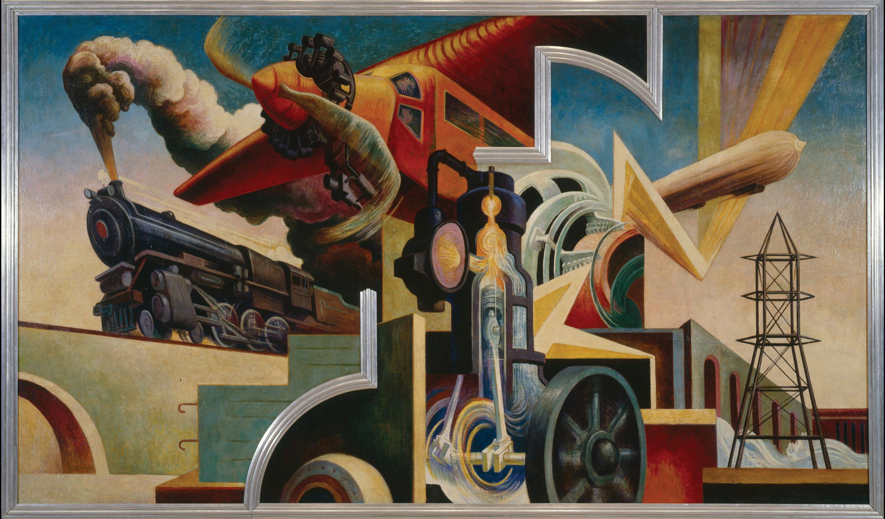 The story behind thomas hart benton s incredible for Craft schools in nc