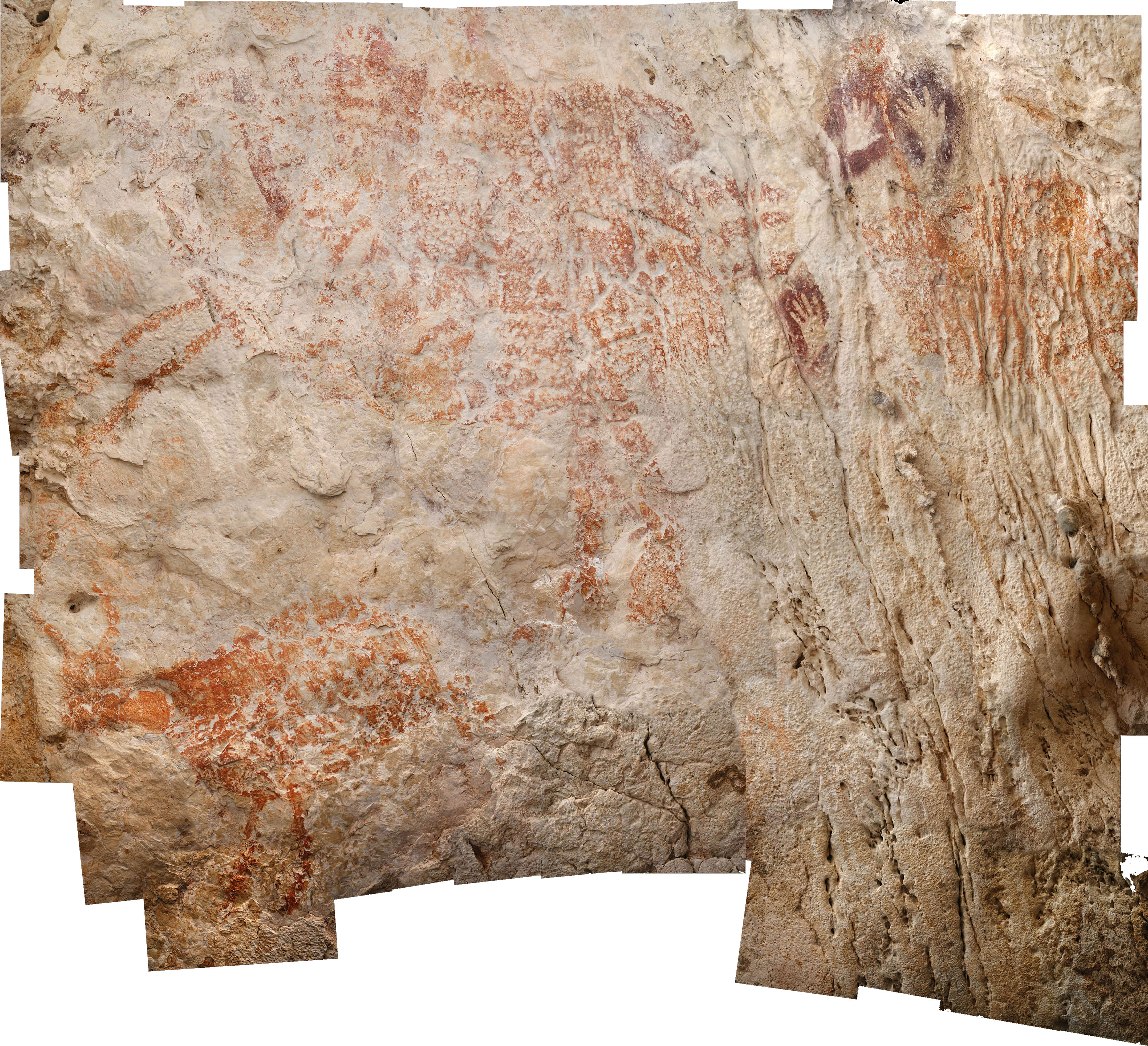 The world's oldest figurative artwork from Borneo dated to a minimum of 40,000 years | Luc-Henri Fage