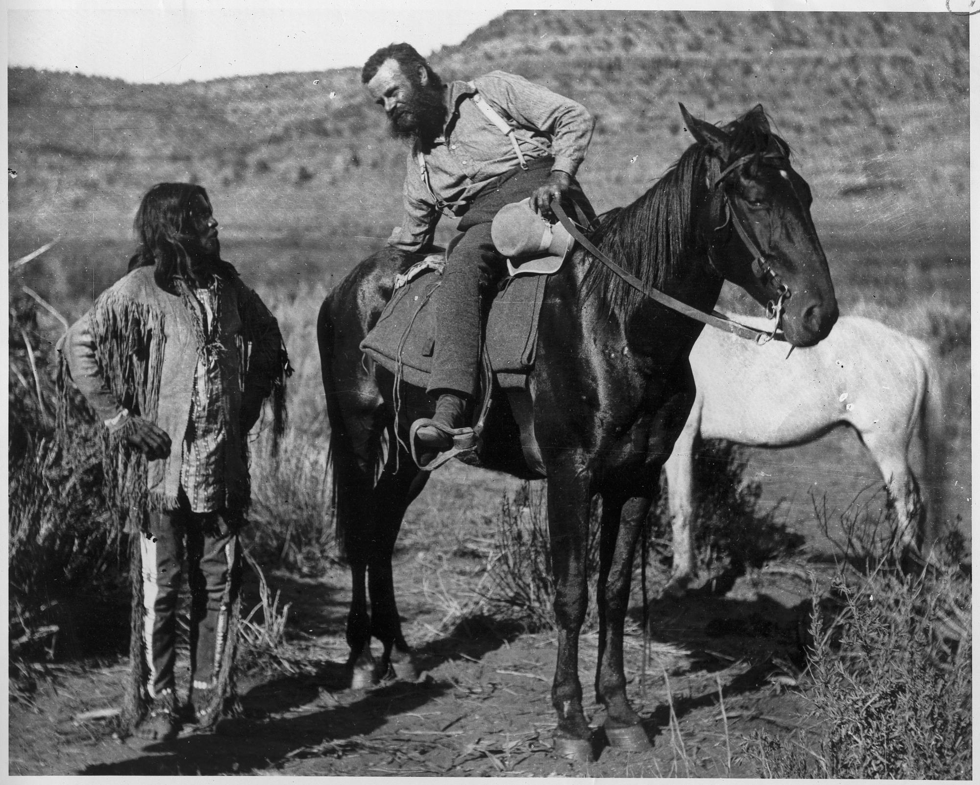 John Wesley Powell with Paiute