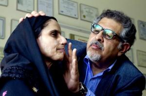Zakia (L) & Dr. Mohammad Jawad (R) in Saving Face