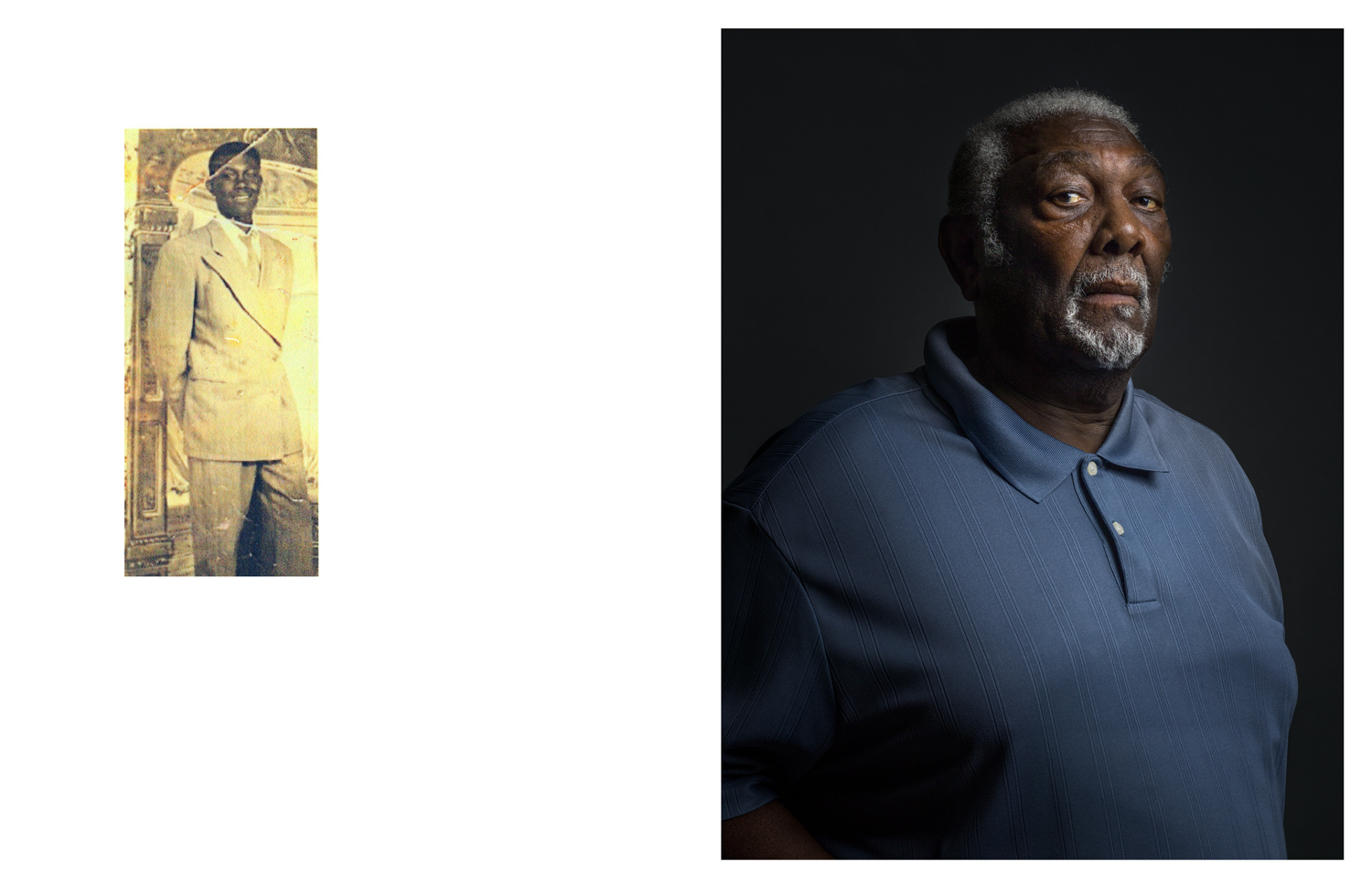 Baxter Leach put in 53 years as a sanitation worker.