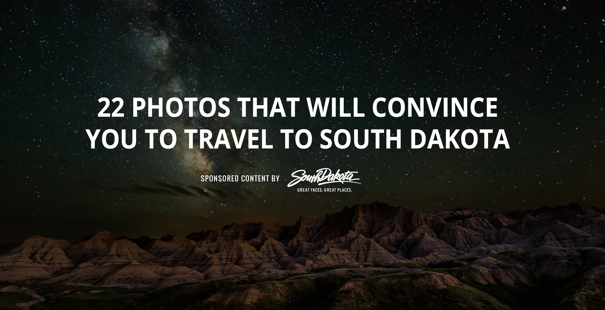 22 photos that will convince you to travel to south dakota now