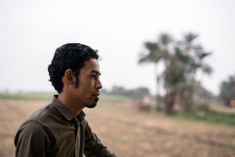 Ahmed Abdel Rasool a descendant of the famous tomb raider