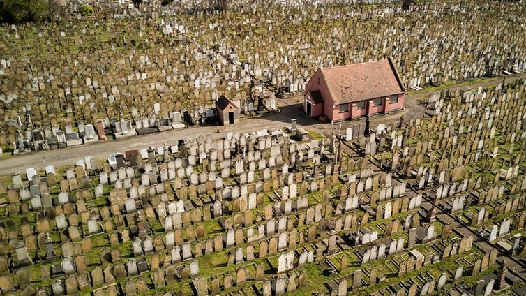Countries in Europe are struggling to deal with overcrowding in cemeteries.
