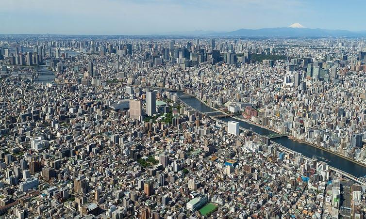 What would Tokyo be without its office space?