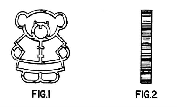 Teddy bear pasta