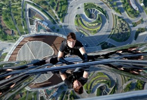 Tom Cruise in M:I—Ghost Protocol