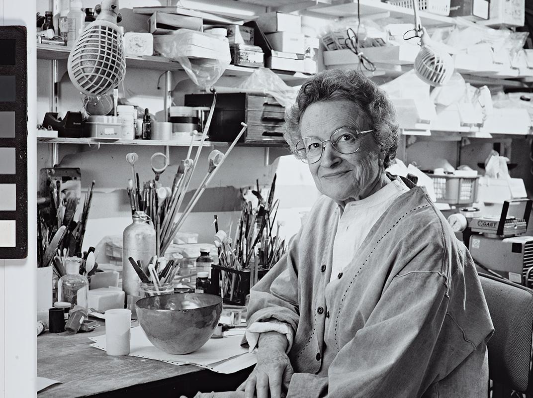 June Schwarcz Portrait