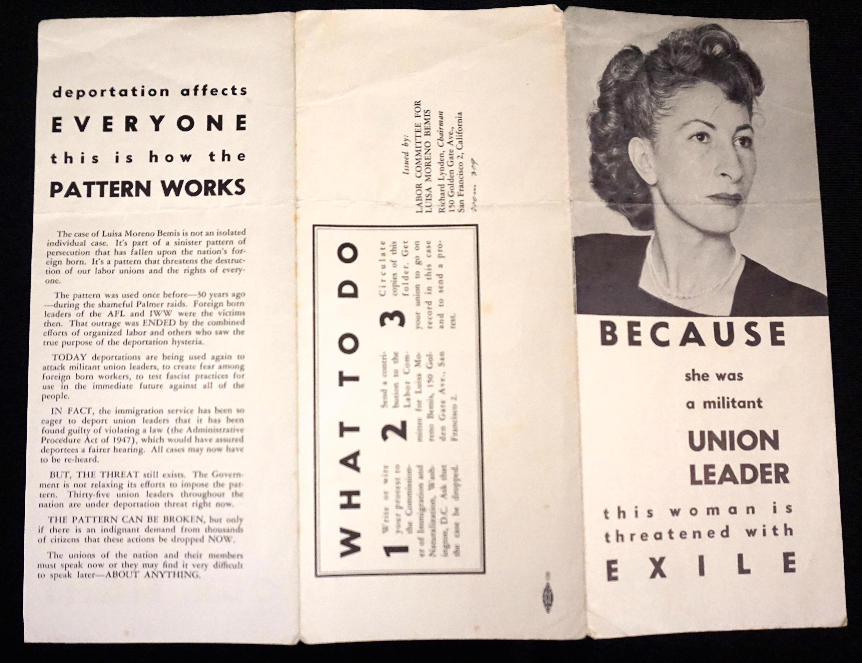 Moreno pamphlet