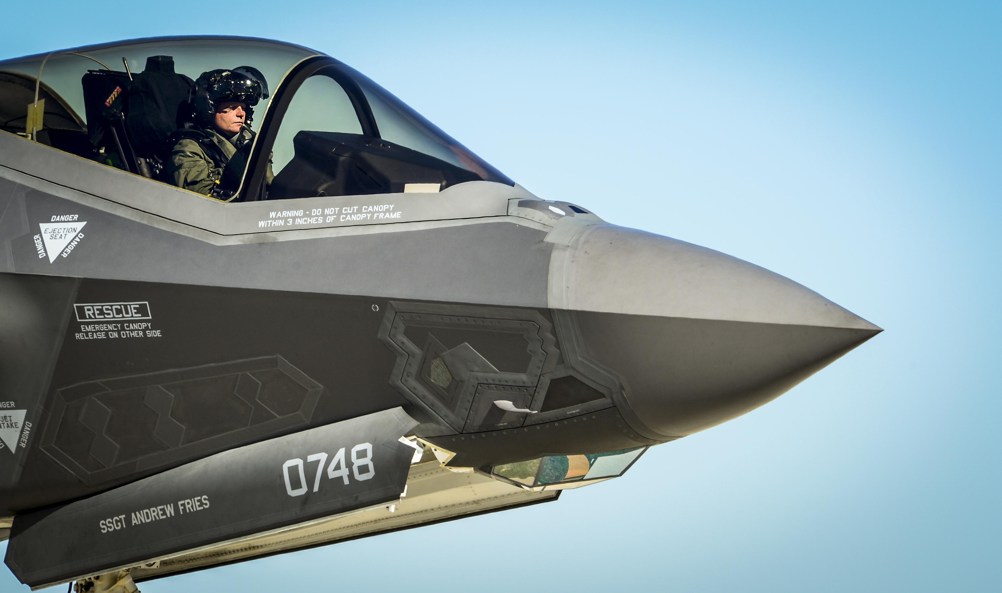 F-35 airframe