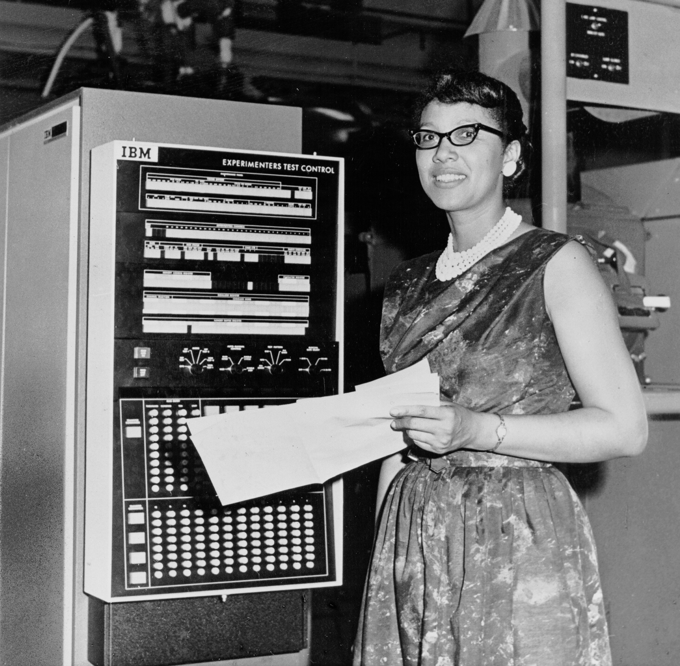 Melba Roy led the group of human computers who tracked the Echo satellites in the 1960s. NASA