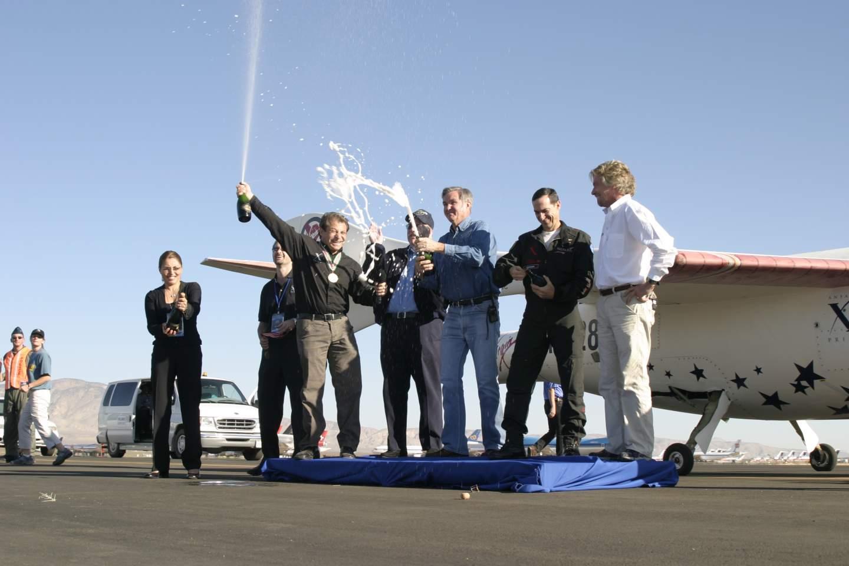 Екипът на SpaceShipOne