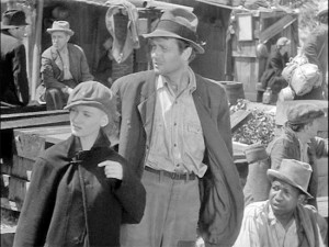 Veronica Lake and Joel McCrea in Sullivan's Travels