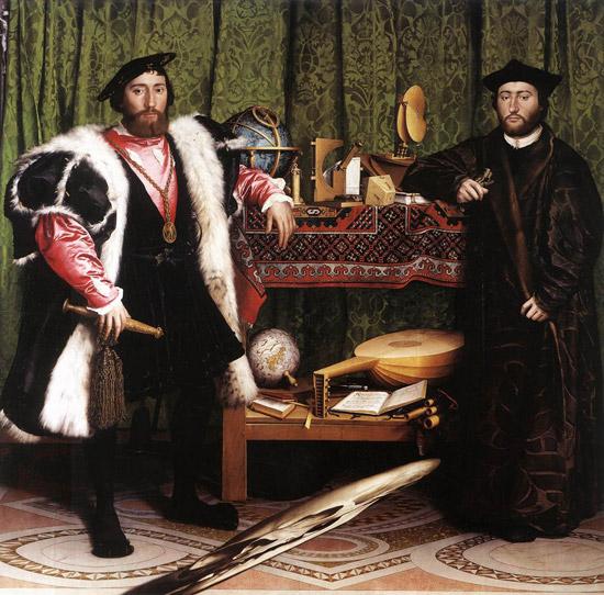 Holbein's The Ambassadors