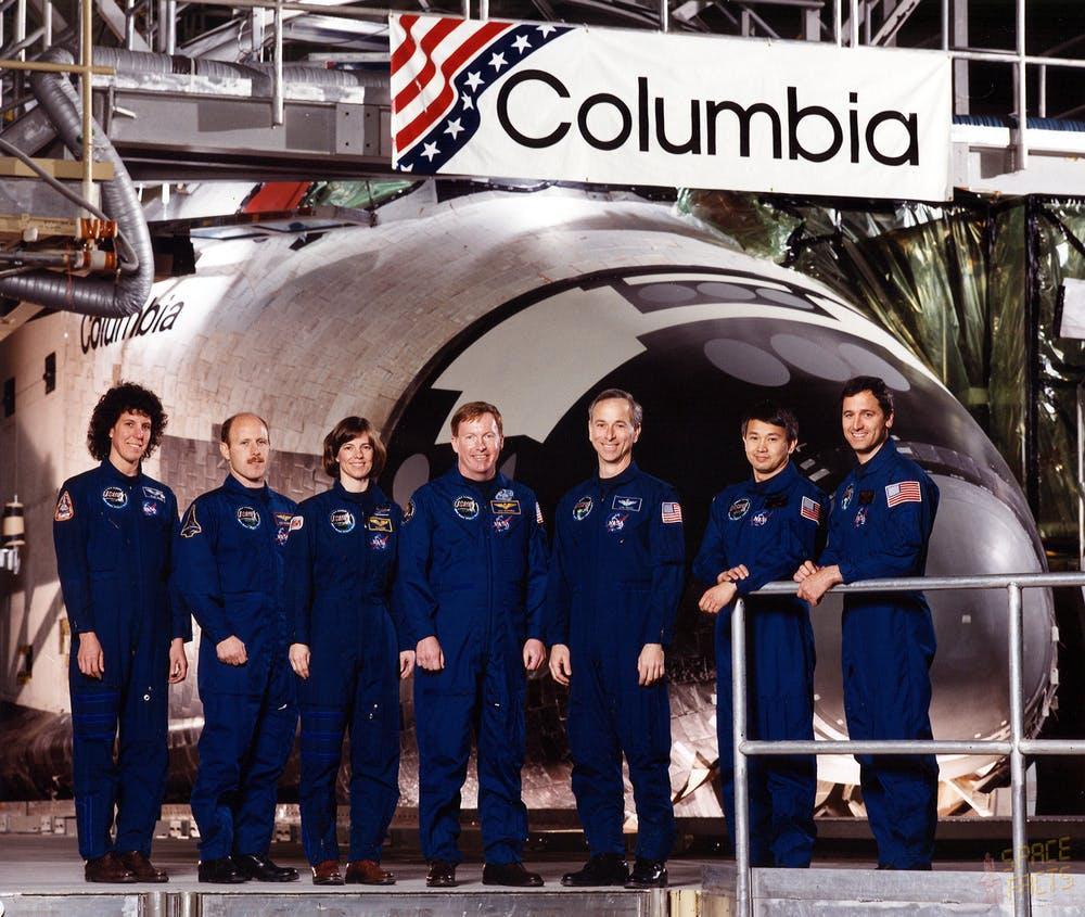 STS-50 Crew photo