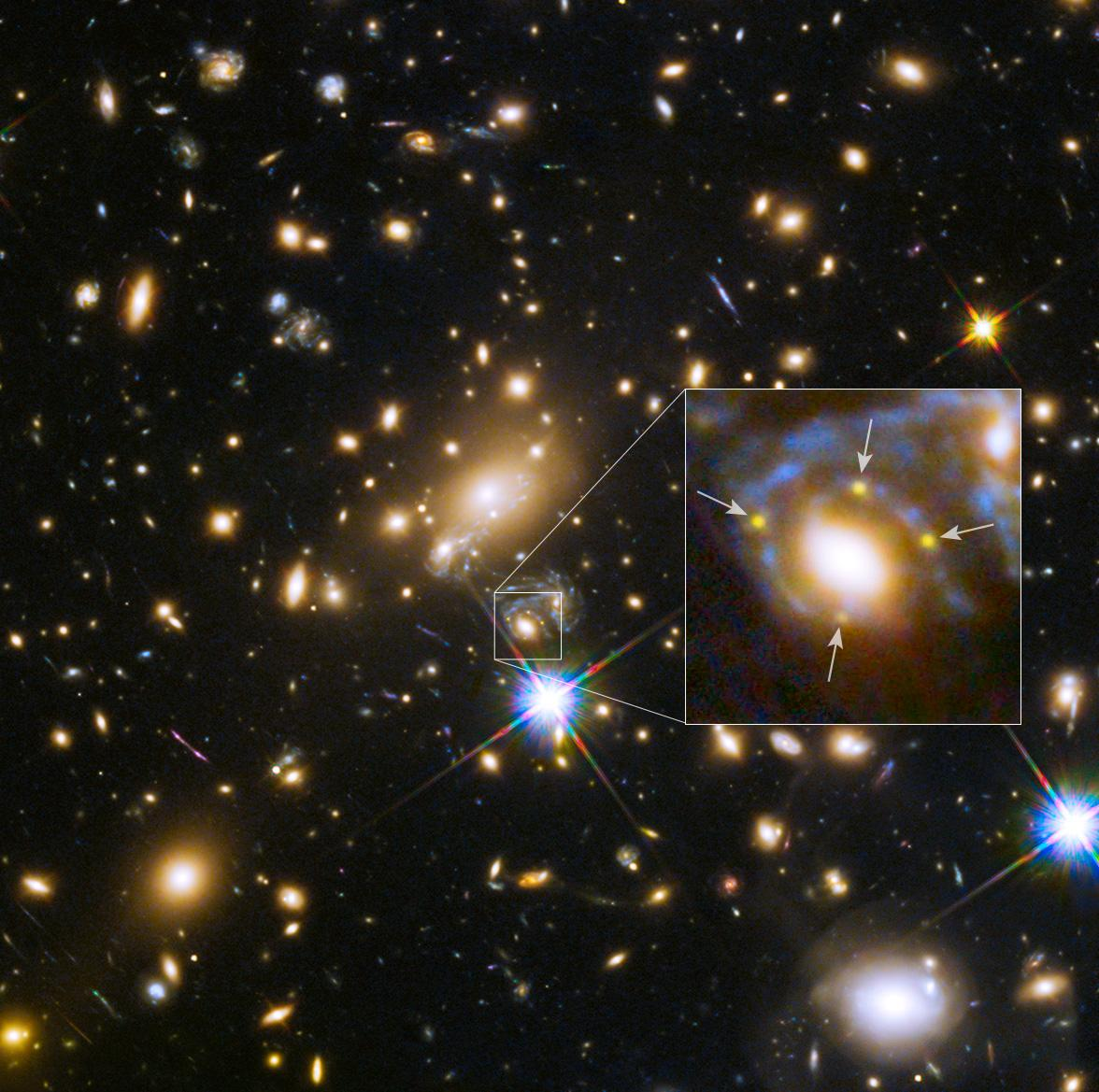 Hubble Quartet