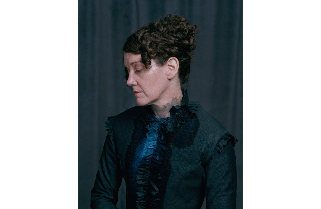 Martha McDonald Victorian Mourning Dress