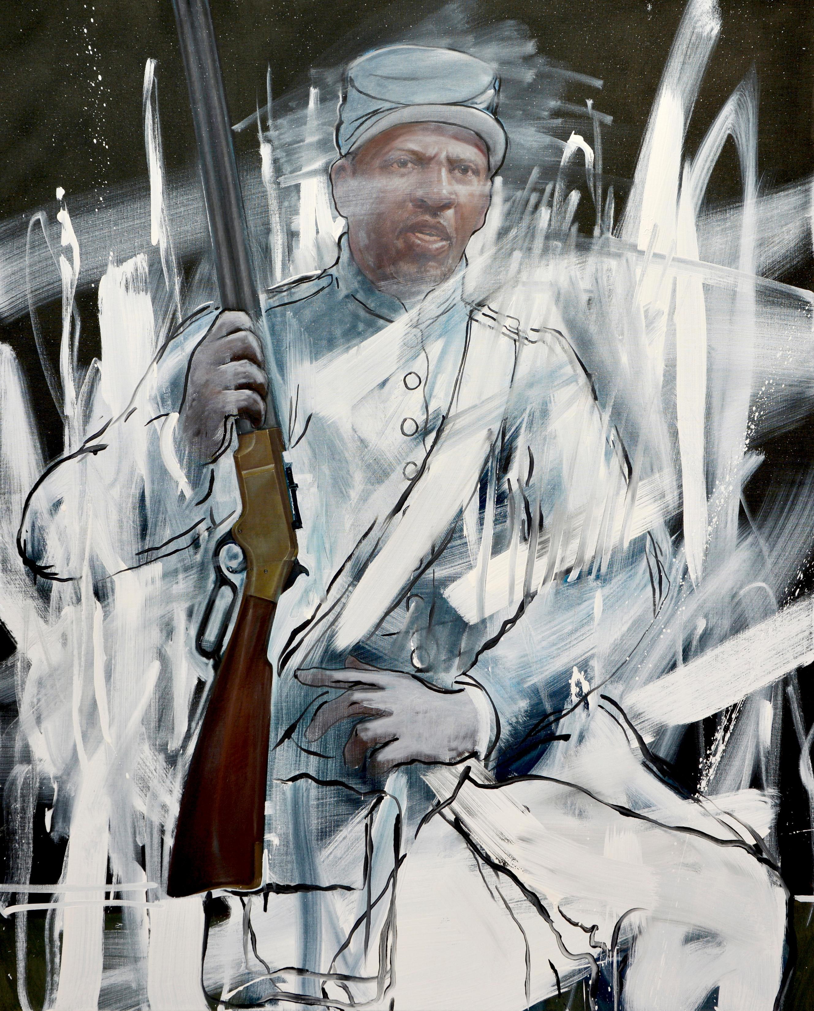 The Fight for Remembrance II, Titus Kaphar