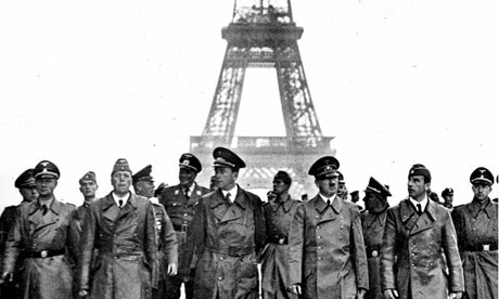 Adolf Hitler in Paris, June 1940