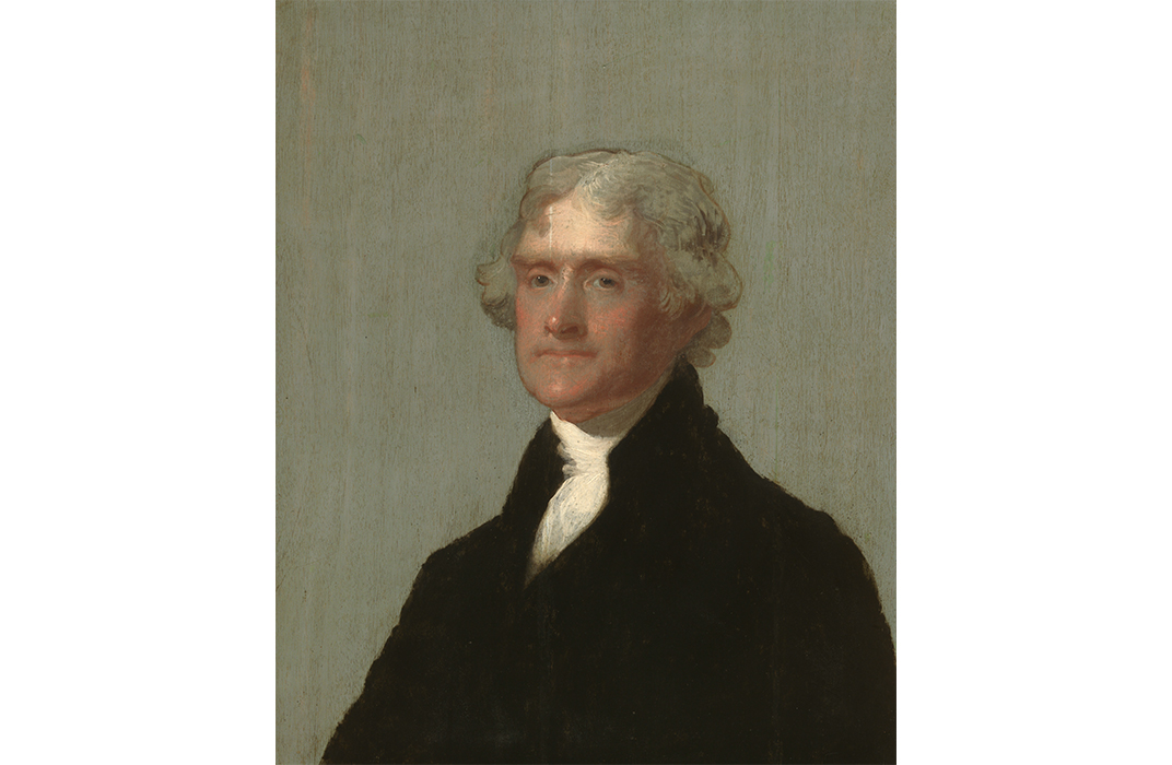 The Edgehill Portrait, Thomas Jefferson