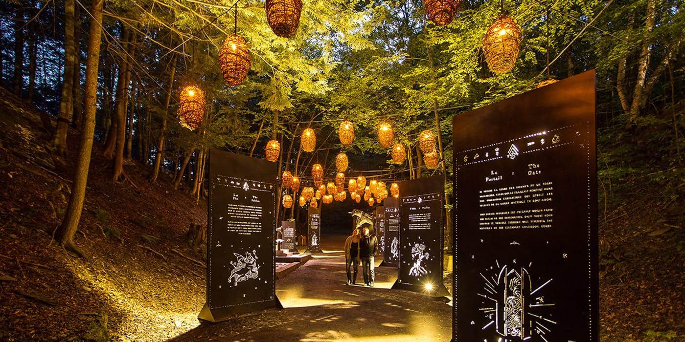 Foresta Lumina in Parc de la Gorge de Caoticoo