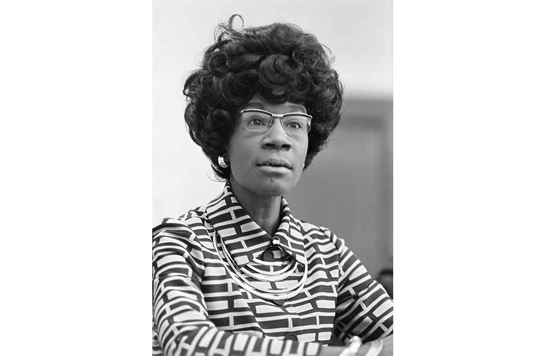 Shirley Chisholm, 1972