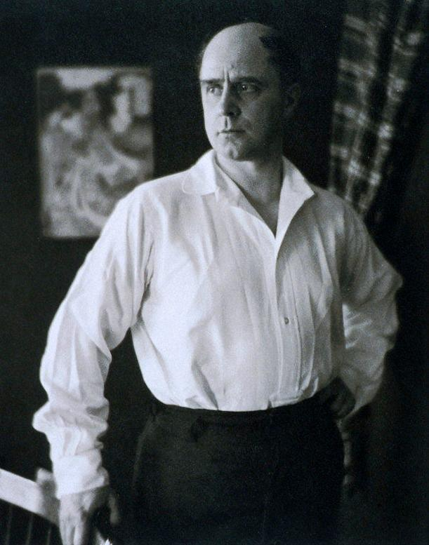 Michel Fokine by Clara Sipprell. Gelatin silver print, 1923, bequest of Phyllis Fenner
