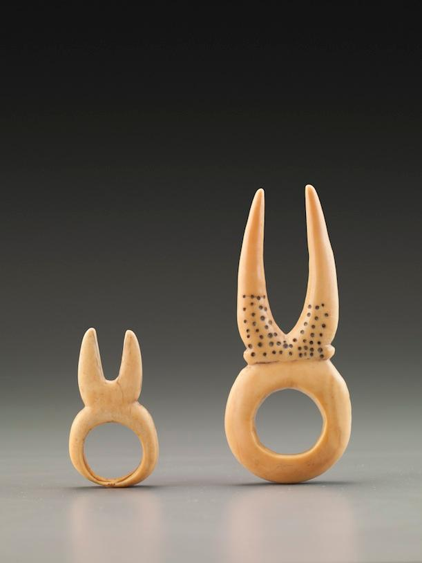 Ivory rings of the Dinka peoples