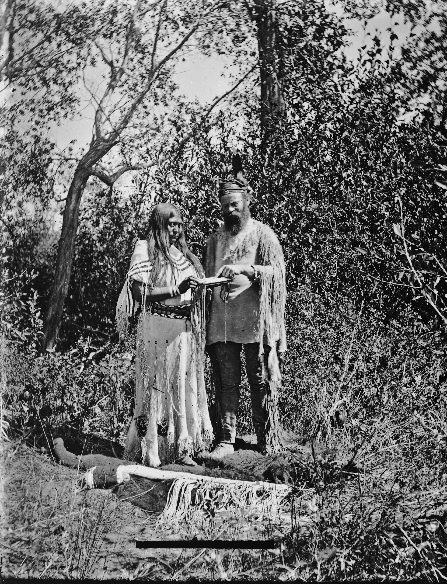John Wesley Powell with Native American Woman