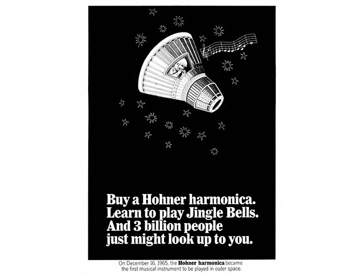 Hohner space ad