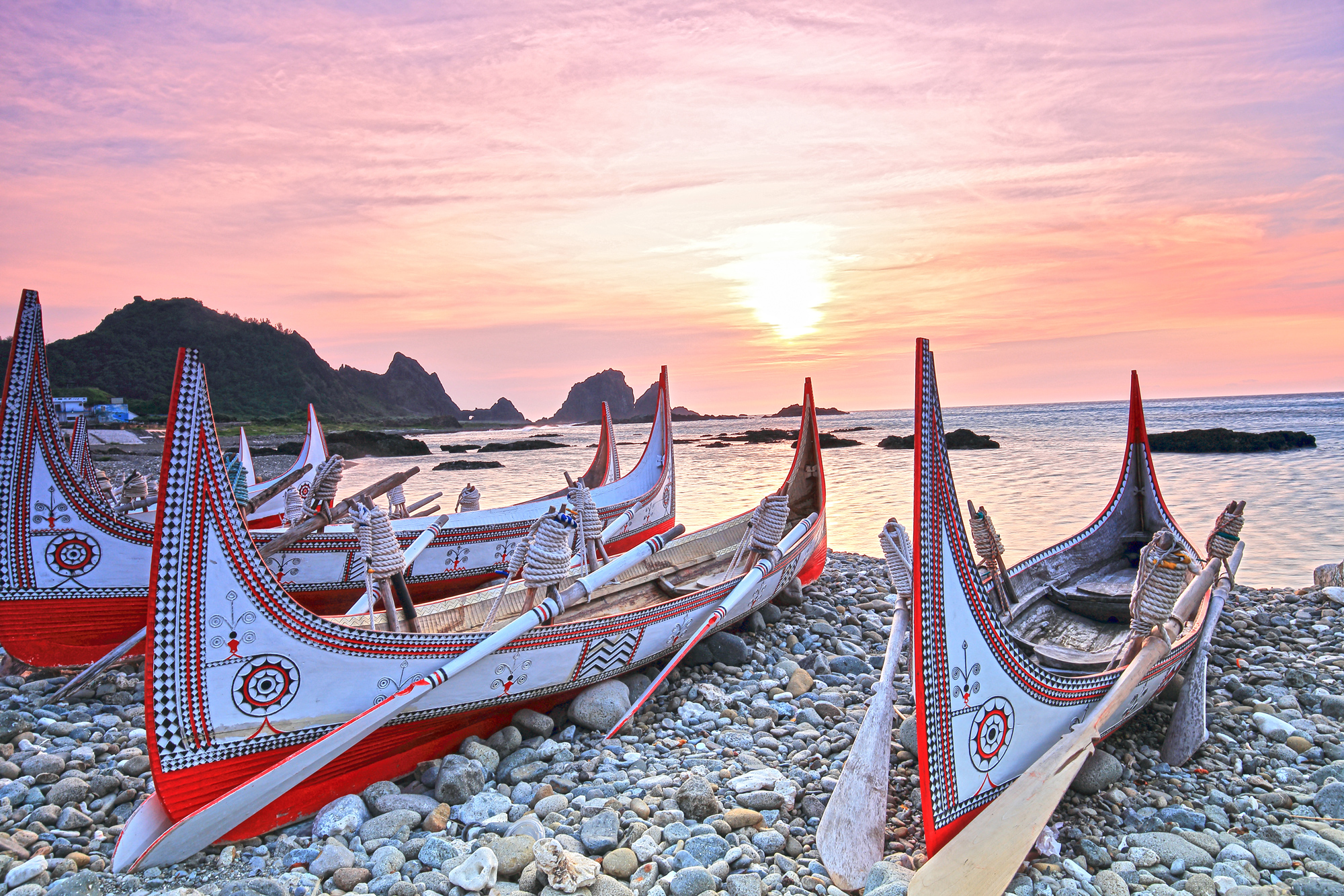 Lanyu (Orchid Island) - Canoes