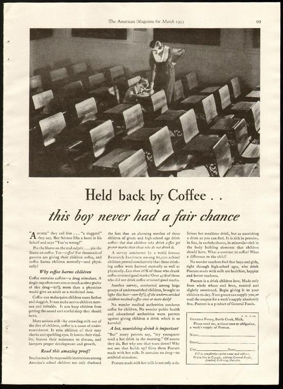 A 1933 Postum ad