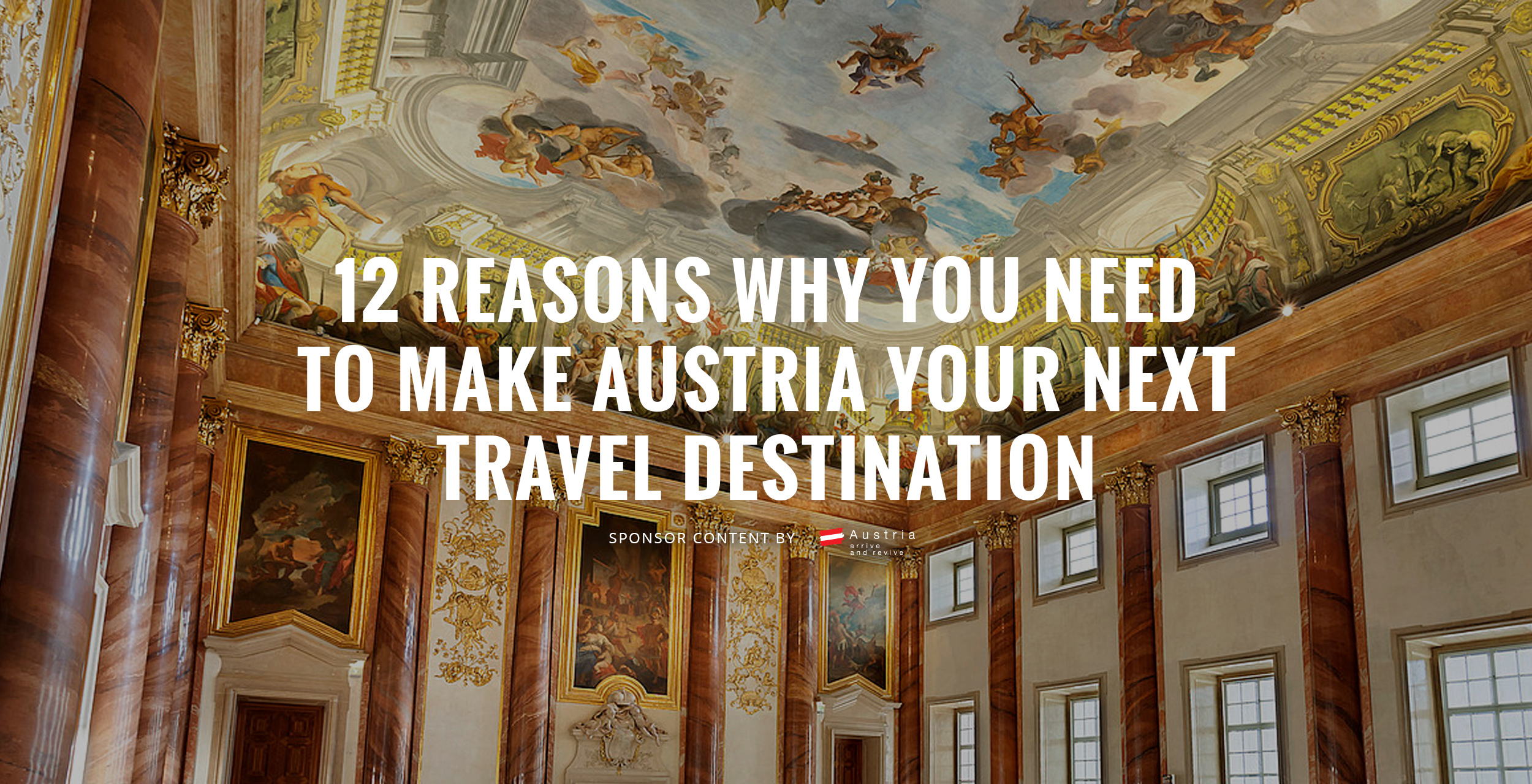 12 Reasons Why You Need to Make Austria Your Next Travel