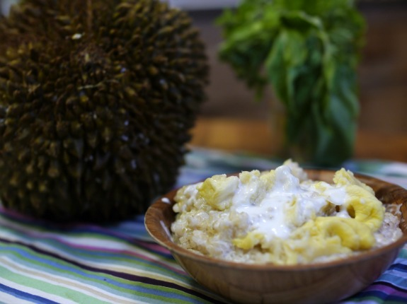 Khao niao durian