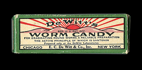 Round worms were no match for Worm Candy!