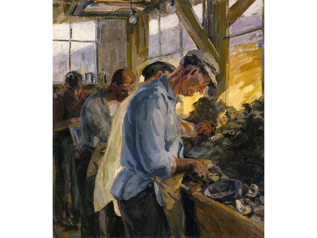 Oyster Shuckers, Catherine M. Howell