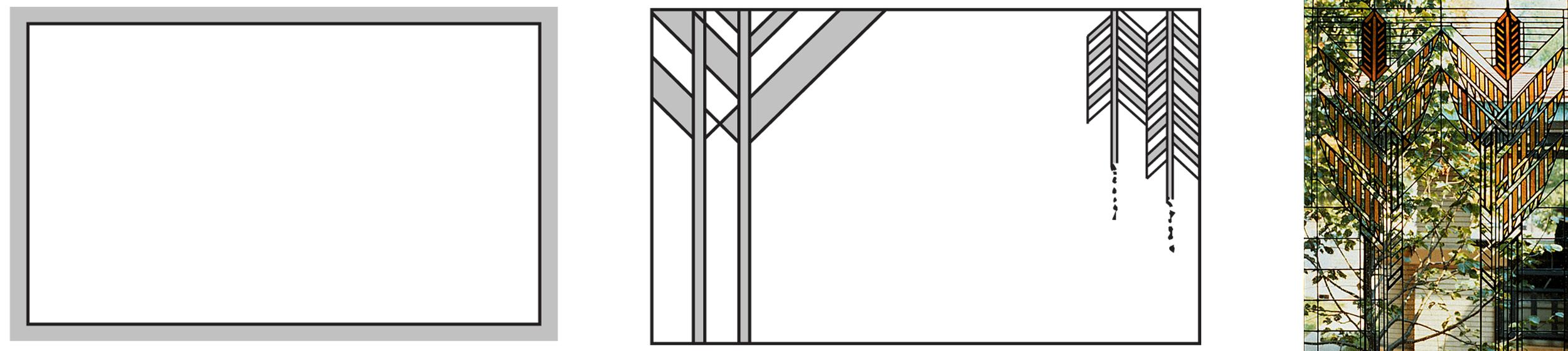 conventional window frame